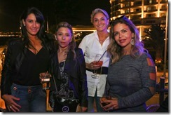 Carolina Cornez, Sandra Zamora, Paula Bulotto y Antonieta Fischetti