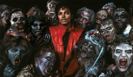 Michael Jackson e os zumbis de Thriller