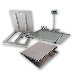 wet use stainless steel floor scales