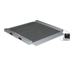RL-350-6 Dual-Ramp Portable Bariatric Wheelchair Scale