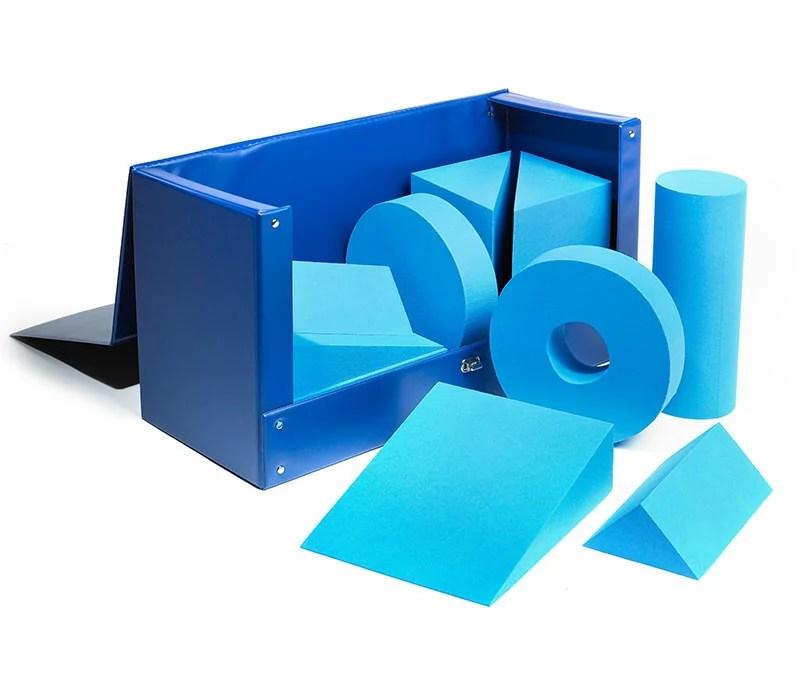 Standard set of foam positioning wedges