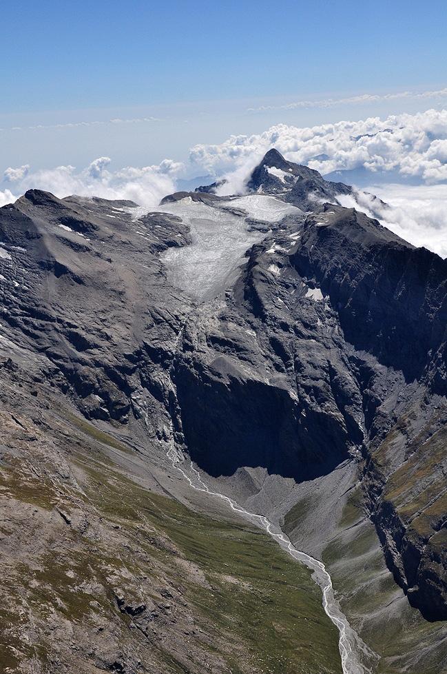 Ghiacciaio del Rocciamelone e Vallée du Ribon (Haute Maurienne, Savoia)