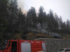 Cesana Incendio