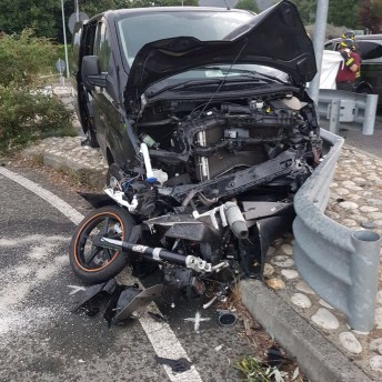 furgone omicida - condove