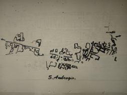 Disegno Sottopassi di Sant'Ambrogio