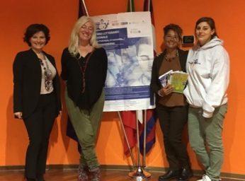 Da sinistra Cristina Frascà, Barbara Debernardi, Caterina Catalano, Maria Teresa Vivino SCN