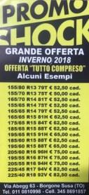Promozione Inverno 2018 (Service Cars Borgone Susa)