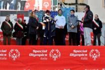 Il saluto ufficiale di Alessandro Palazzotti, vice presidente Special Olympics Italia (Foto Gian Spagnolo)