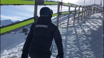 incidente pista sci sauze d'oulx carabinieri