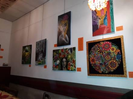 opere mostra Le vie dei colori
