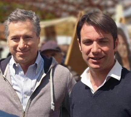 Lorenzo Calabrese e Stefano Tizzani