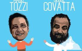 Mario Tozzi e Giobbe Covatta
