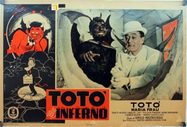 07 b Locandina film 1955 Totò all'inferno