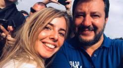 Lega - Ilaria Miceli e Matteo Salvini