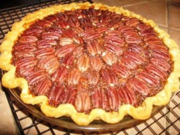 Chocolate Bourbon pecan pie