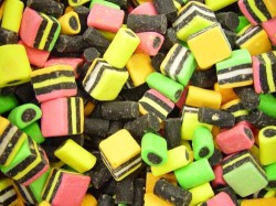 licorice candy