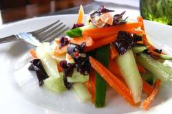 cucumber dulse salad