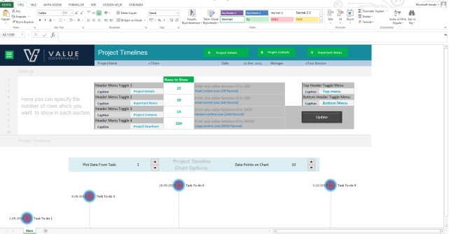 Basic Project Management Tool