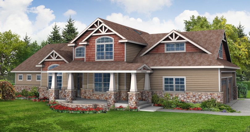 1414 on Craftsman Rambler Exterior House Colors