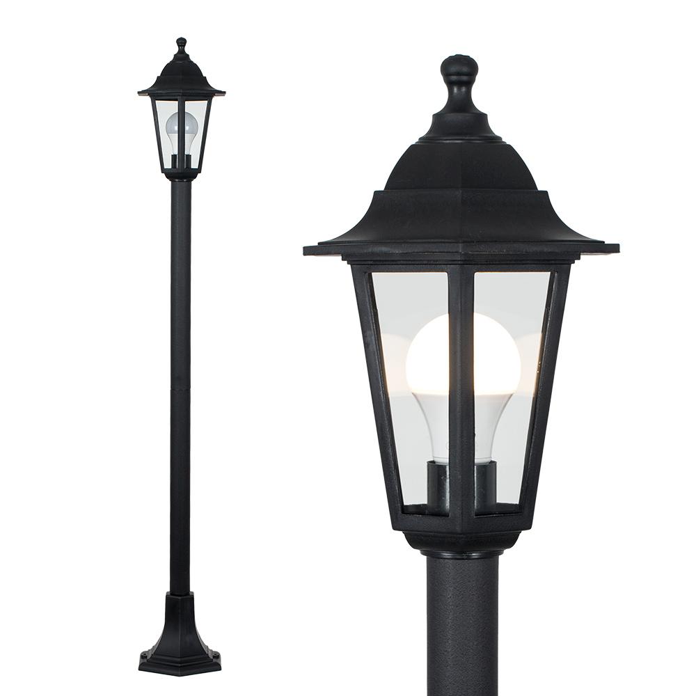 mayfair ip44 1 2m outdoor lamp post
