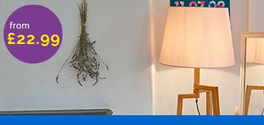 Floor Lamps In Arc Modern Tripod Glass Wood Value Lights