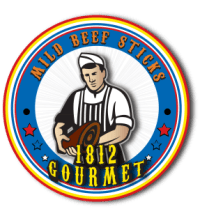 1812 gourmet MILD beef sticks