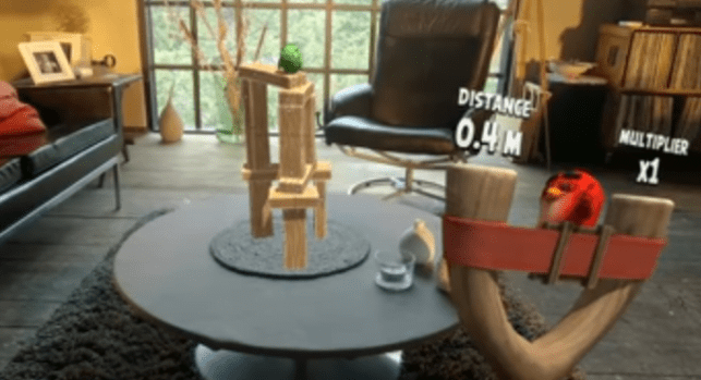 Magic Leap One, Angry Birds FPS