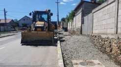 Primăria continuă modernizarea străzilor din comună. FOTO Primăria Valu lui Traian