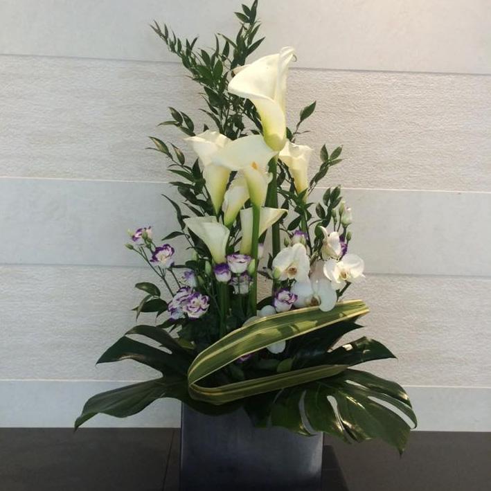 Composition Florale Val Vert Fleurs