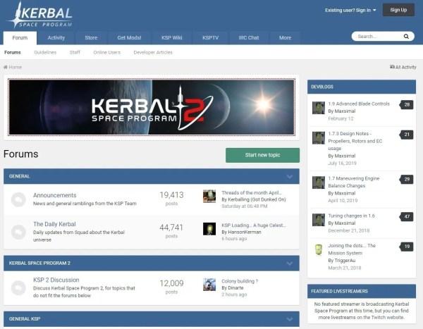 KSP Forums: Kerbal Space Program
