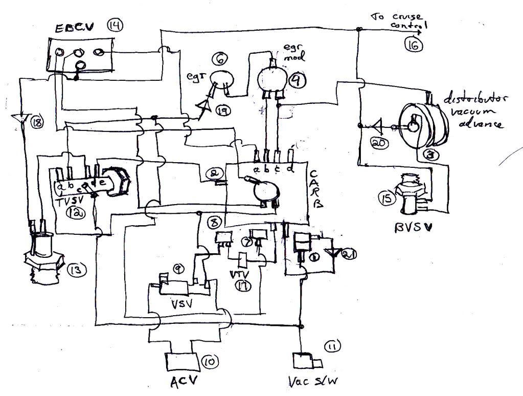 1994 Toyota Tercel Engine Diagram