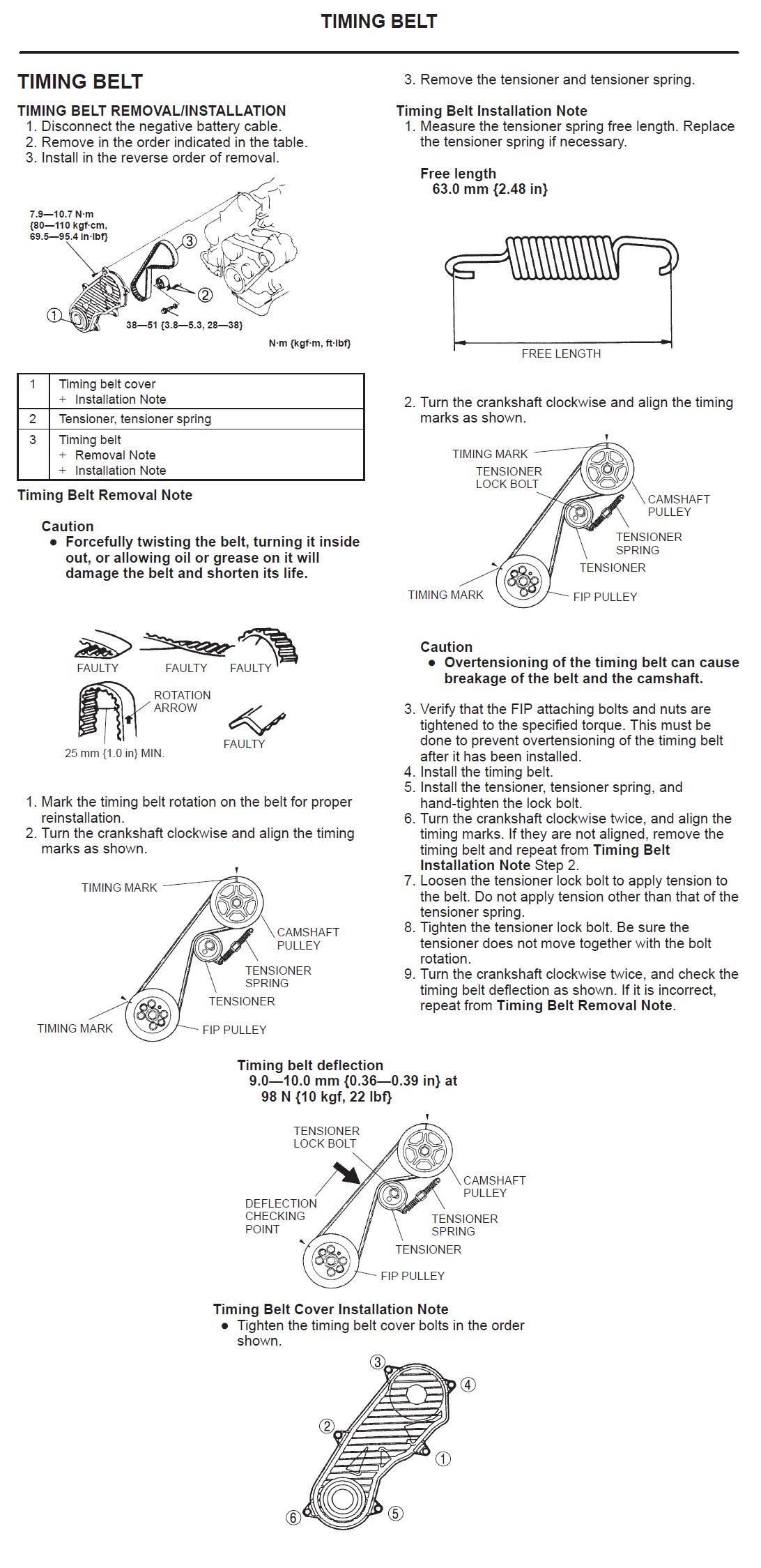 Diagrama Distribucion Mazda W9