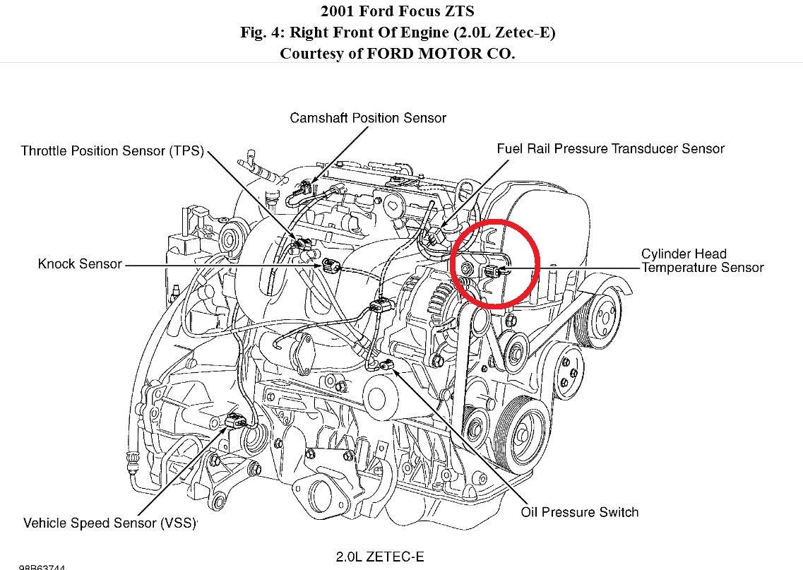 2 3 Liter Ford Duratec Engine Diagram