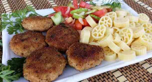 Turkey and Pork Meat Patties (Kotlety) - Котлеты