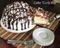 "Cake ""Curly Boy"""