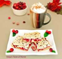 Cream Cheese Cranberry Bars