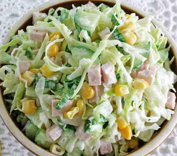 Tossed Cucumber Salad Recipe