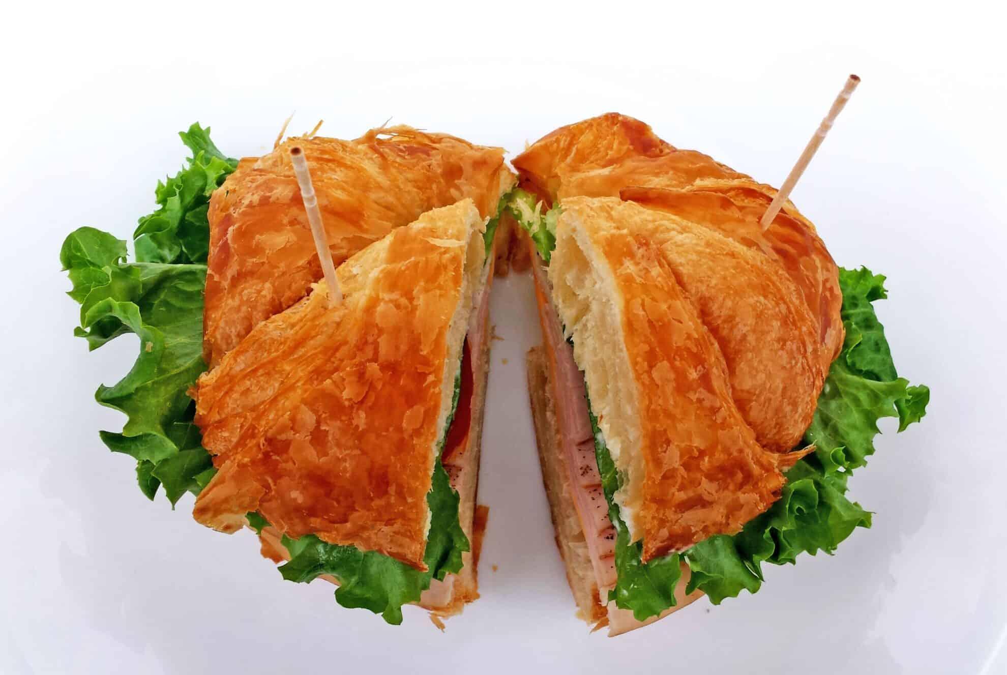Turkey Croissan'wich Appetizers - Valya's Taste of Home