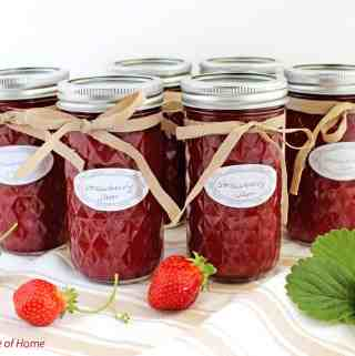 Simple Homemade Strawberry Jam Recipe