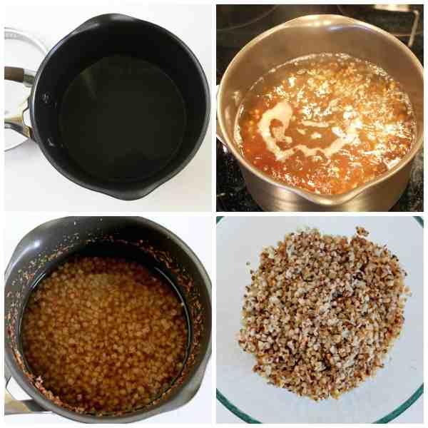 Buckwheat Meatballs in Cream Sauce