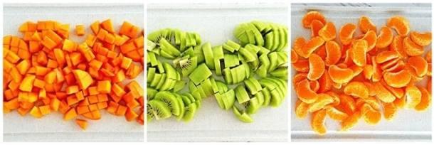 Healthy Winter Fruit Salad