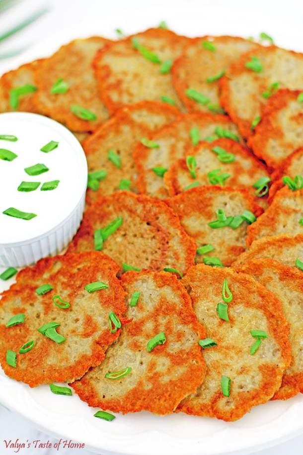 Crispy Ukrainian Potato Pancakes Recipe
