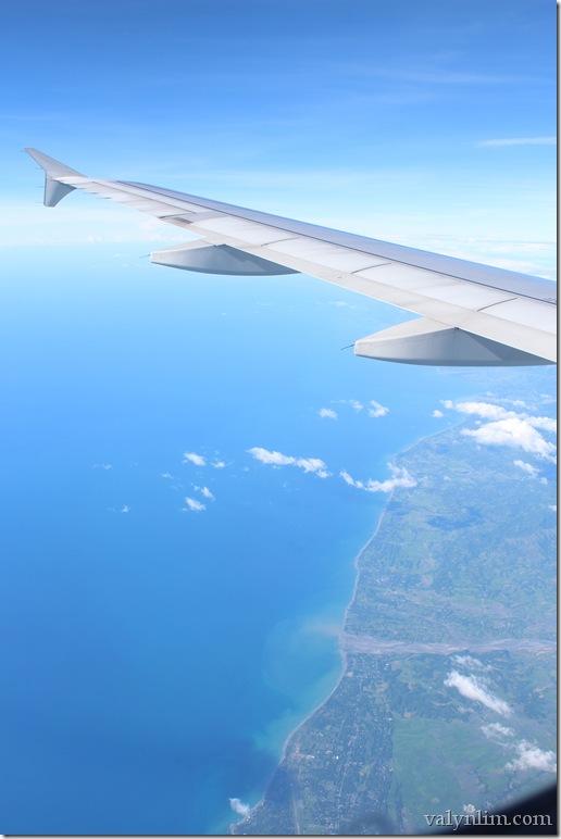 on the way to Boracay
