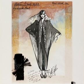 Bill Gibb (1943-88), costume design, London, 1986. Museum no. E.523-1993