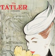 Front cover of Tatler, featuring design by Sigrid Hunt, 5 May 1954. Museum no. E.684-1986