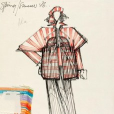 Bill Gibb (1943-88), fashion design, London, 1976. Museum no. E.127-1978
