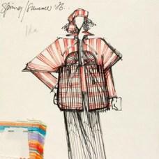 Bill Gibb (1943-88), fashion design, London, 1976. Museum no. E.127-1978