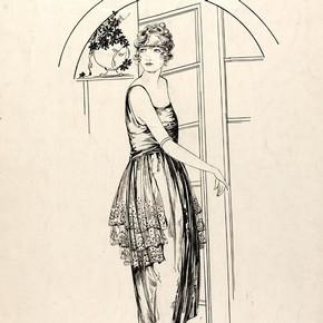 Hilda Steward, fashion design, London, 1920