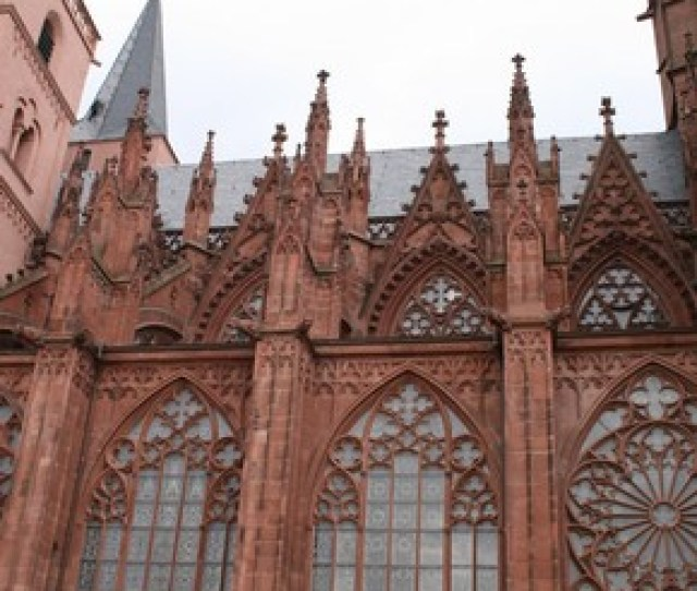 South Side Of The Nave Of The Church Of St Catherine Oppenheim Germany