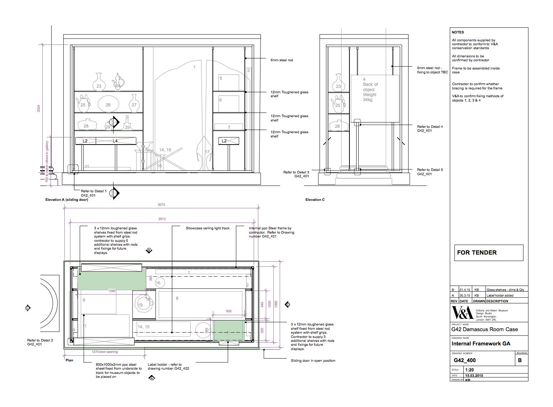 Designing The Damascus Room Display V Amp A Blog